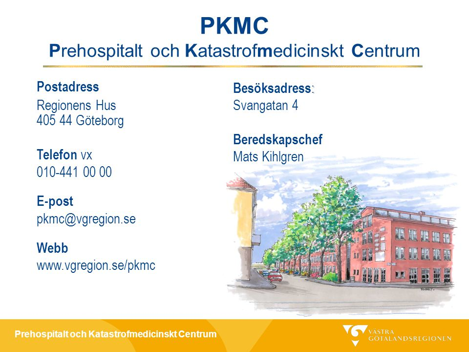 Prehospitalt och Katastrofmedicinskt Centrum