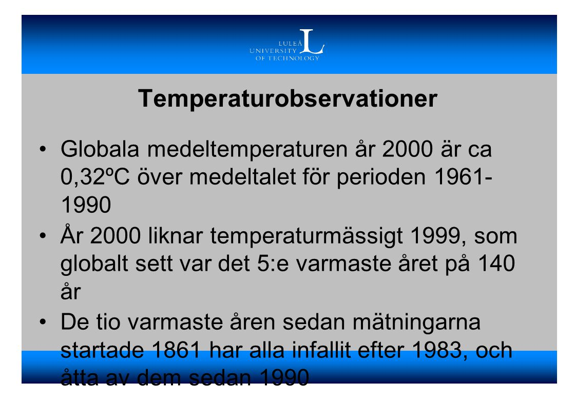Temperaturobservationer