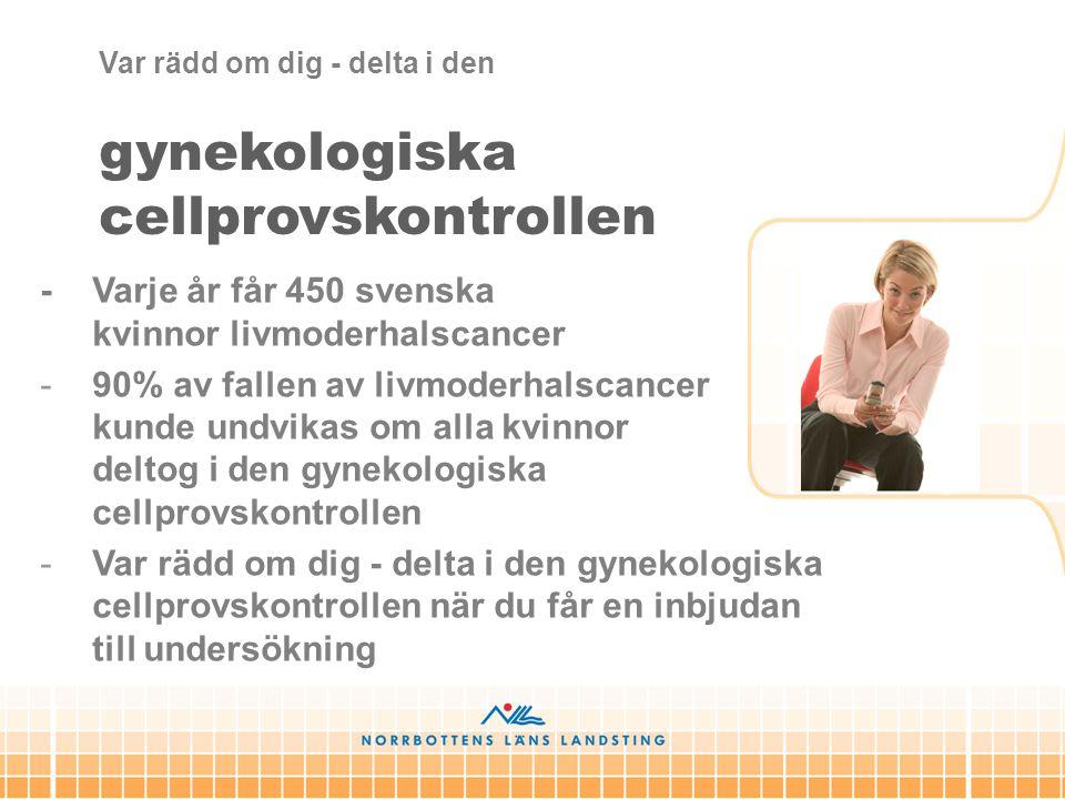 gynekologiska cellprovskontrollen