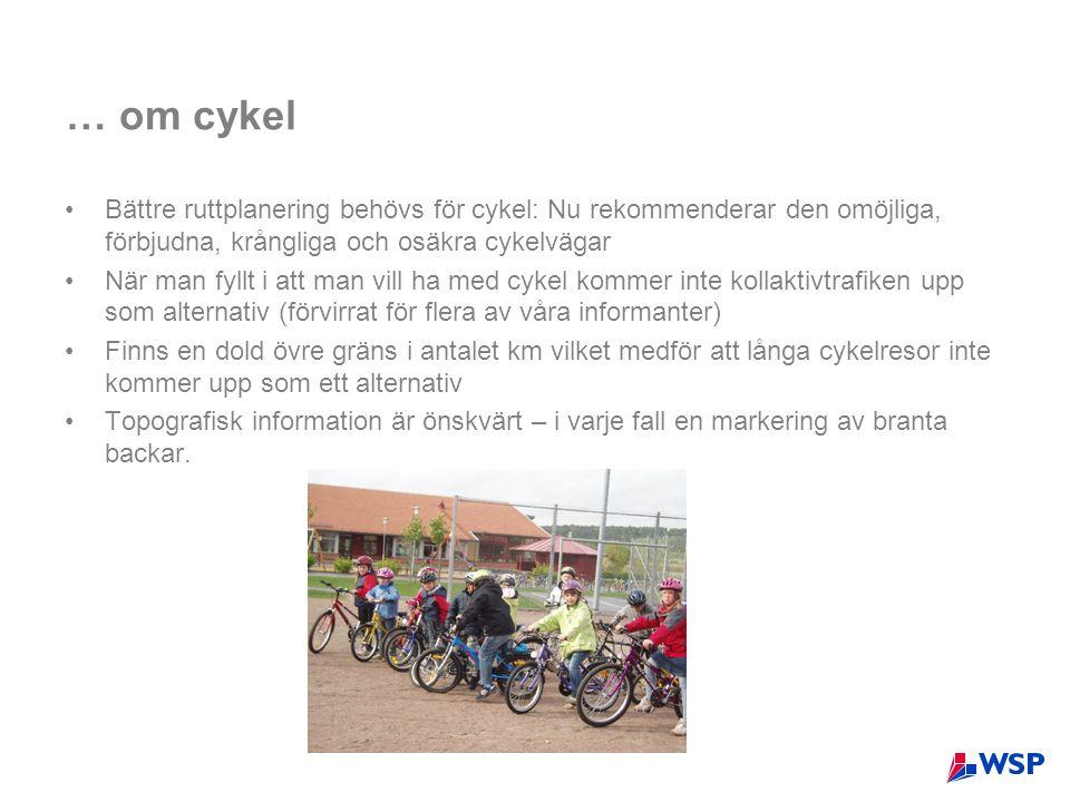… om cykel Bättre ruttplanering behövs för cykel: Nu rekommenderar den omöjliga, förbjudna, krångliga och osäkra cykelvägar.