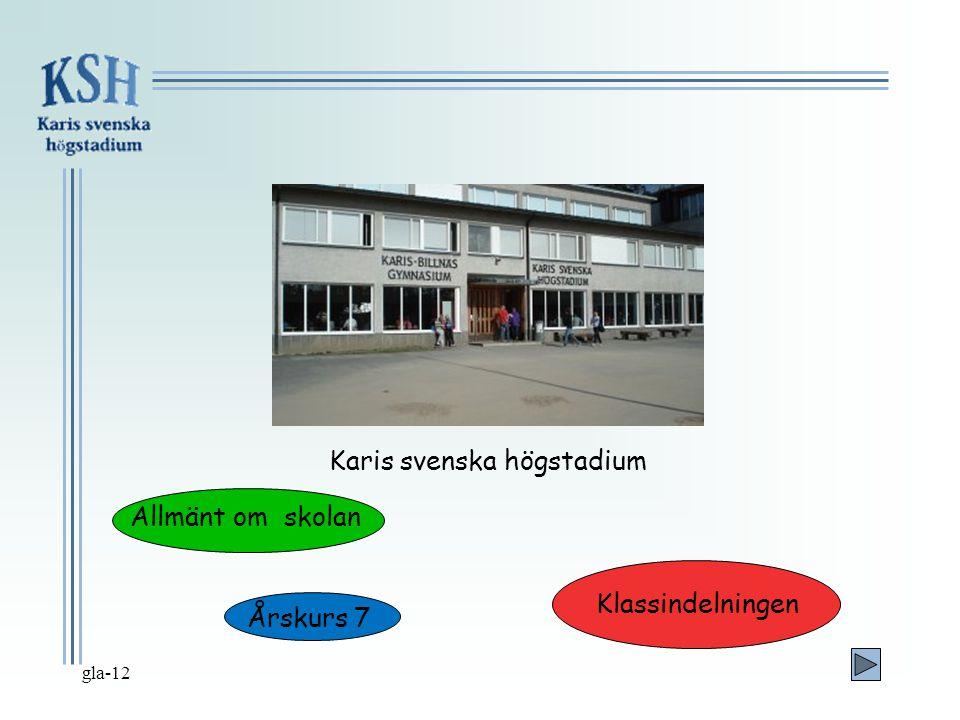 Karis svenska högstadium