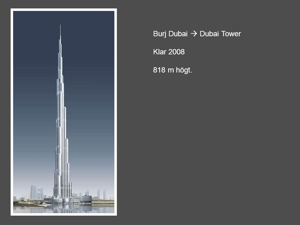 Burj Dubai  Dubai Tower