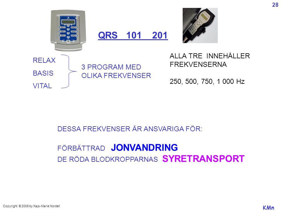 QRS 101 201 ALLA TRE INNEHÅLLER RELAX FREKVENSERNA BASIS 3 PROGRAM MED
