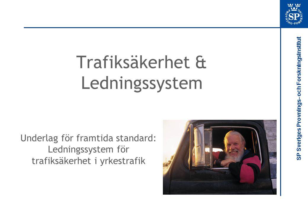 Trafiksäkerhet & Ledningssystem