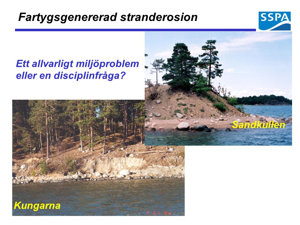 Fartygsgenererad stranderosion