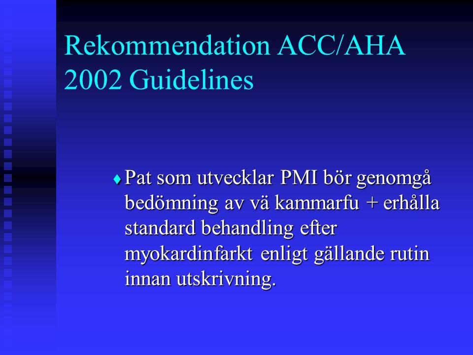 Rekommendation ACC/AHA 2002 Guidelines