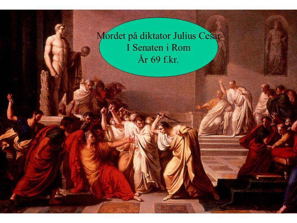 Mordet på diktator Julius Cesar