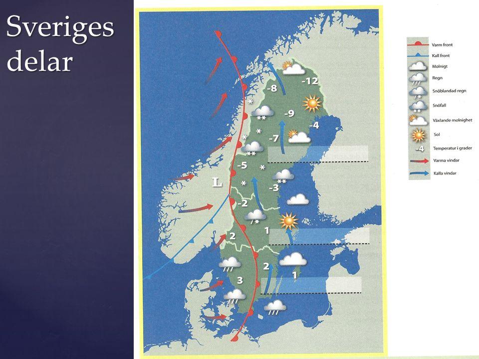 Sveriges delar