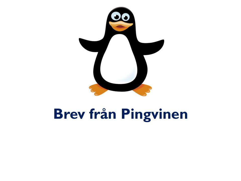 Brev från Pingvinen
