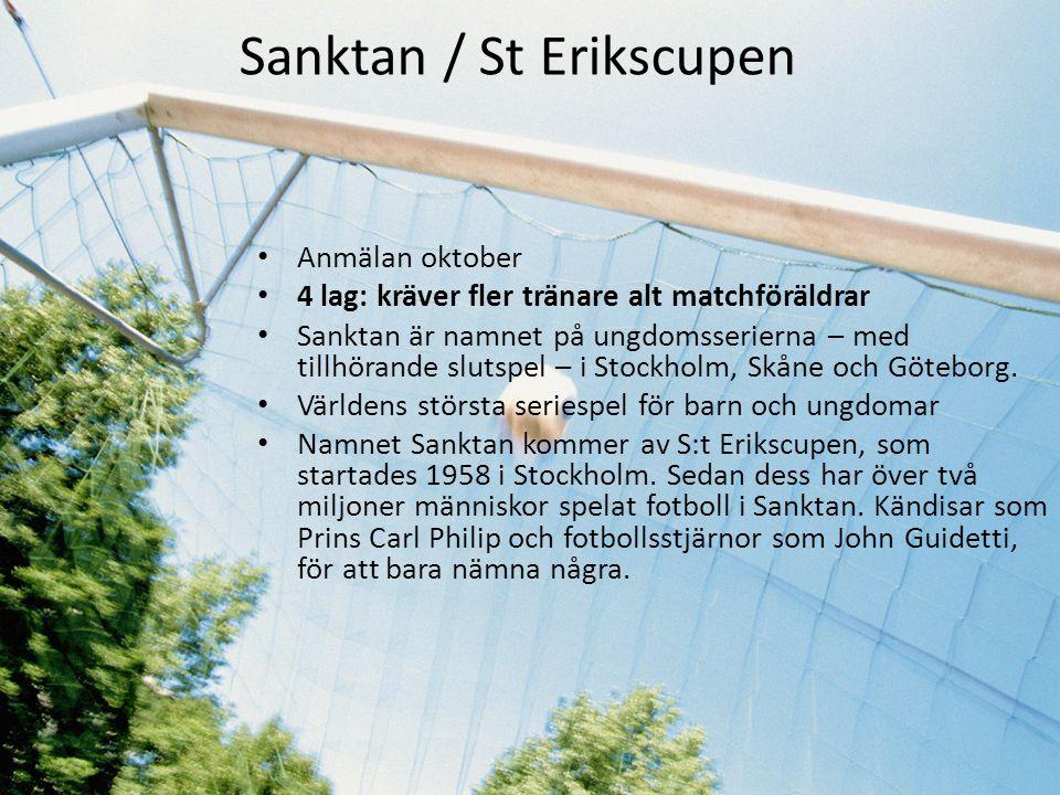 Sanktan / St Erikscupen