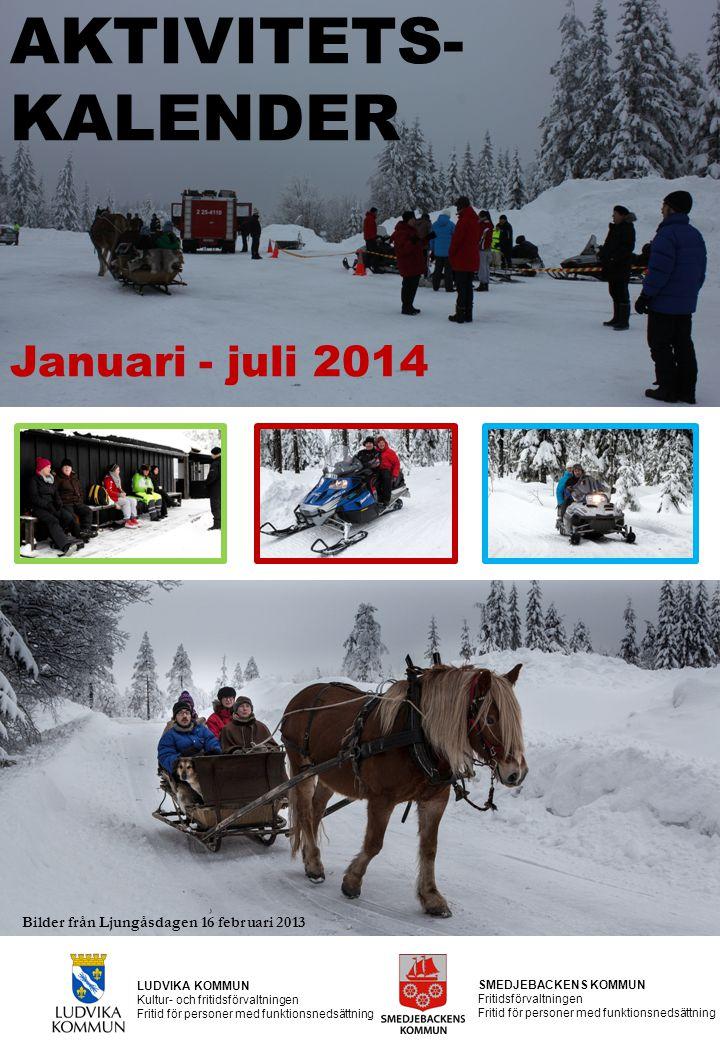 AKTIVITETS- KALENDER Januari - juli 2014