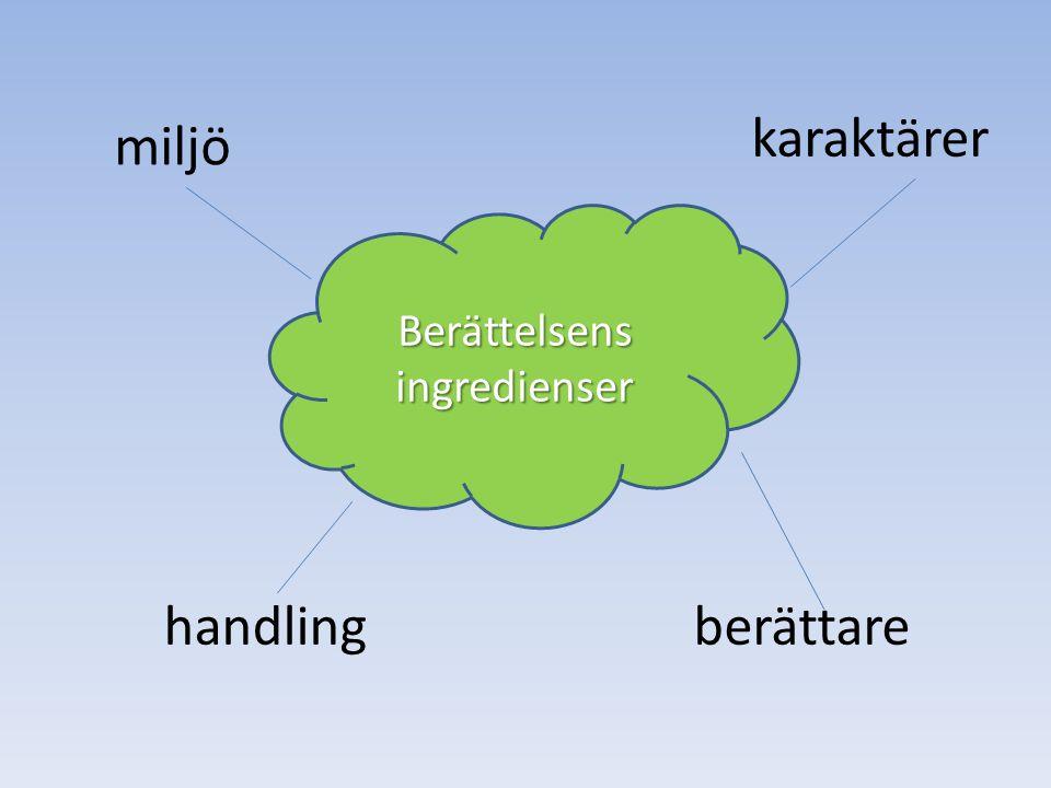 Berättelsens ingredienser
