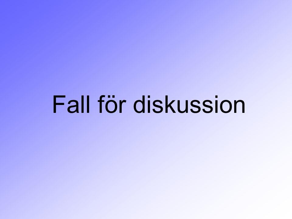 Fall för diskussion