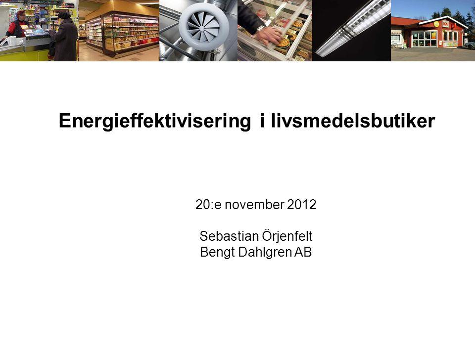 Energieffektivisering i livsmedelsbutiker