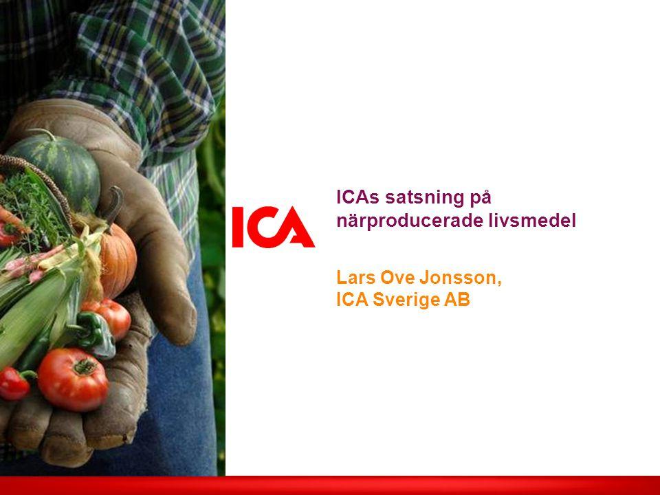 ICAs satsning på närproducerade livsmedel