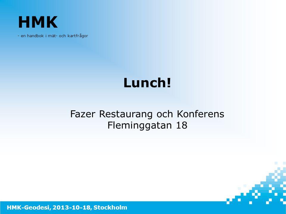 Fazer Restaurang och Konferens Fleminggatan 18
