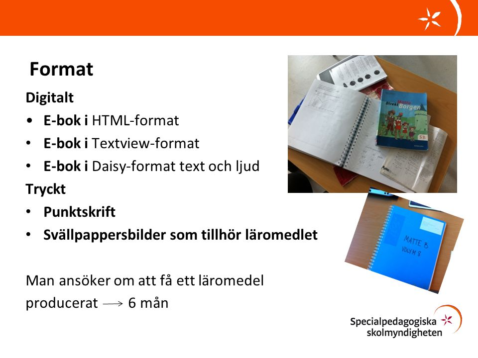 Format Digitalt E-bok i HTML-format E-bok i Textview-format