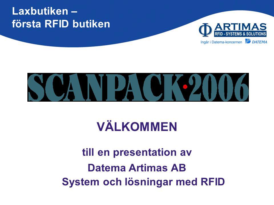 till en presentation av System och lösningar med RFID