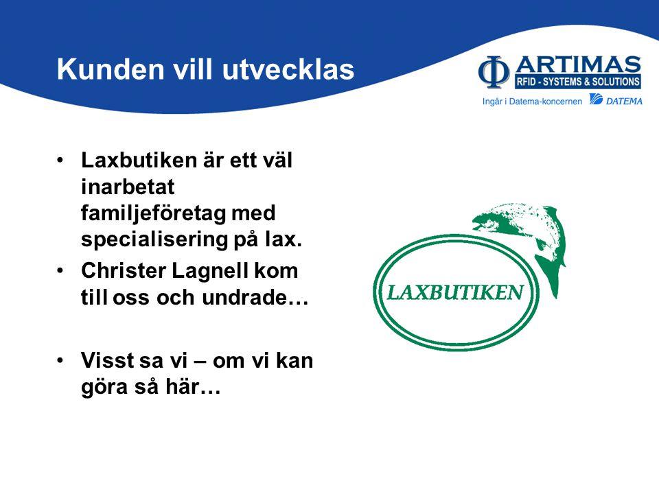 Kunden vill utvecklas Laxbutiken är ett väl inarbetat familjeföretag med specialisering på lax. Christer Lagnell kom till oss och undrade…