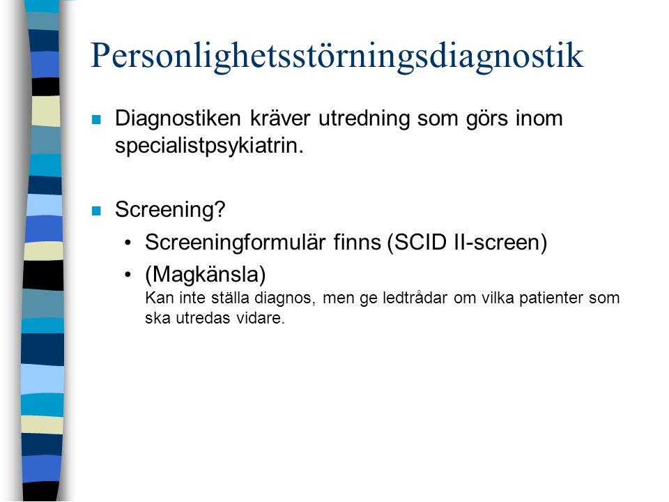 Personlighetsstörningsdiagnostik