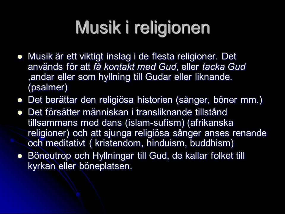 Musik i religionen