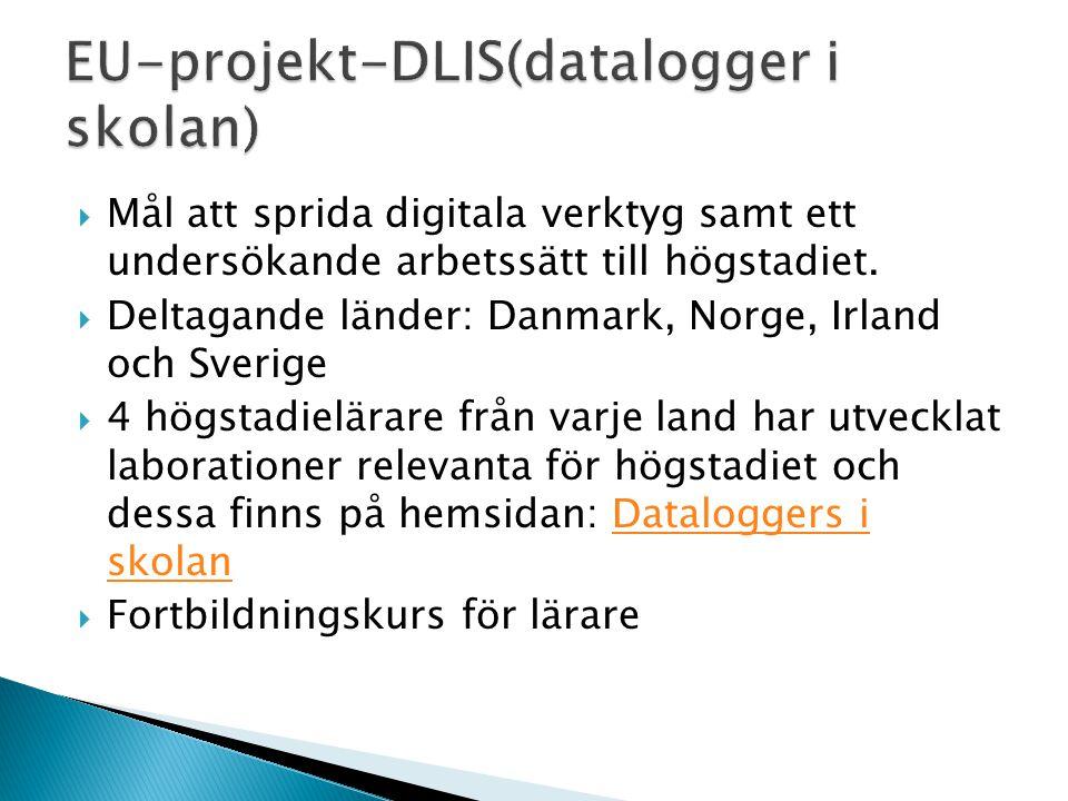 EU-projekt-DLIS(datalogger i skolan)