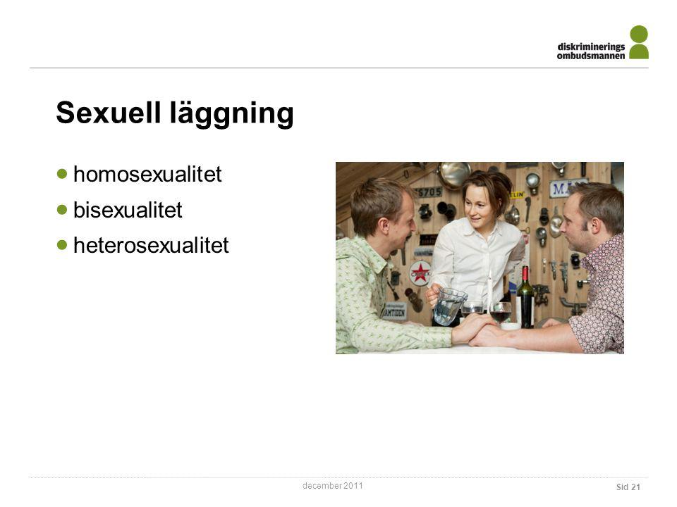 Sexuell läggning homosexualitet bisexualitet heterosexualitet