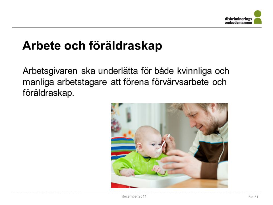 Arbete och föräldraskap