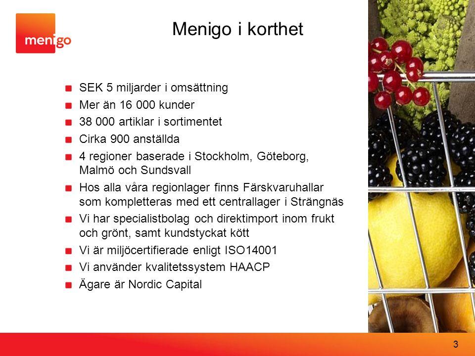 Menigo i korthet SEK 5 miljarder i omsättning Mer än 16 000 kunder