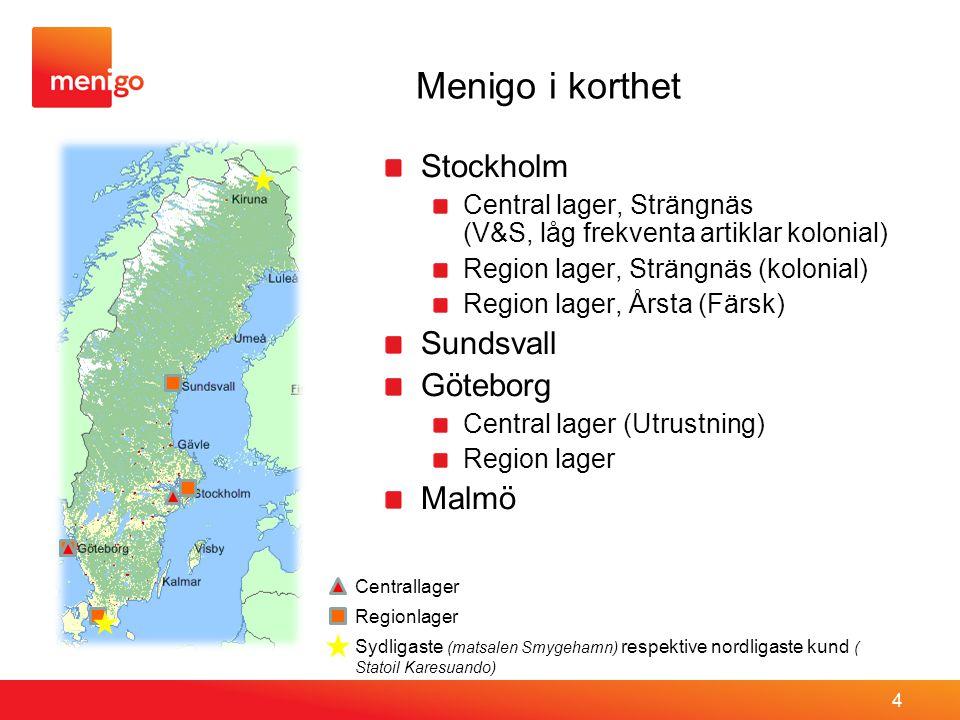 Menigo i korthet Stockholm Sundsvall Göteborg Malmö