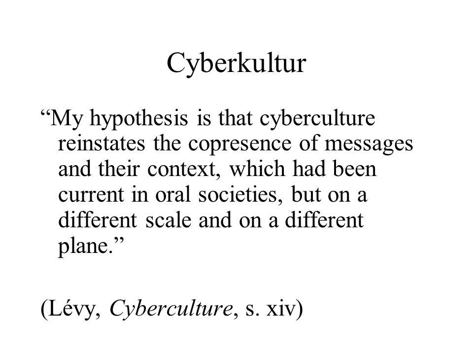 Cyberkultur