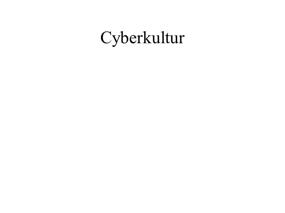 Cyberkultur Stämmer det Vad betyder det