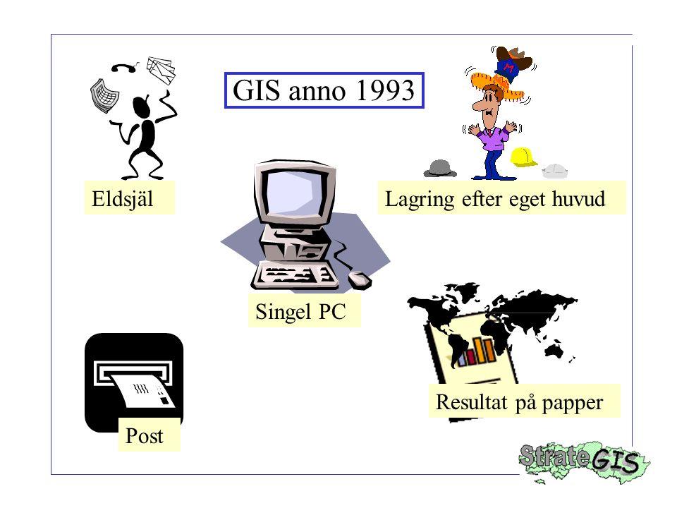 GIS anno 1993 Eldsjäl Lagring efter eget huvud Singel PC
