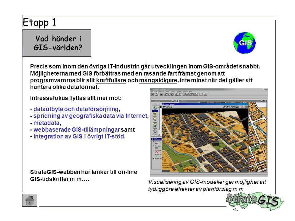 Vad händer i GIS-världen