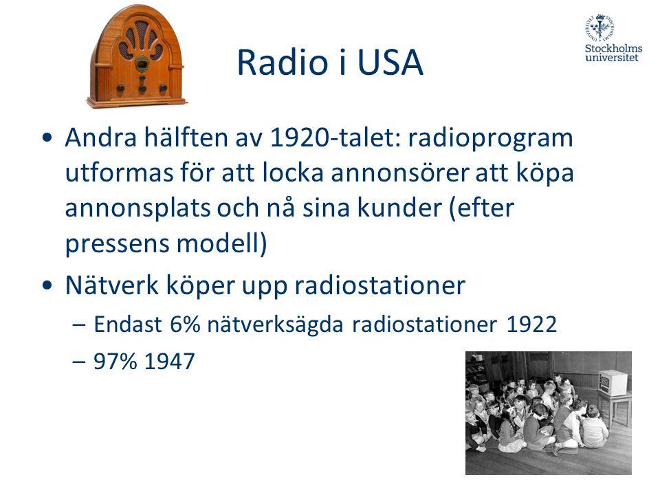 Radio i USA