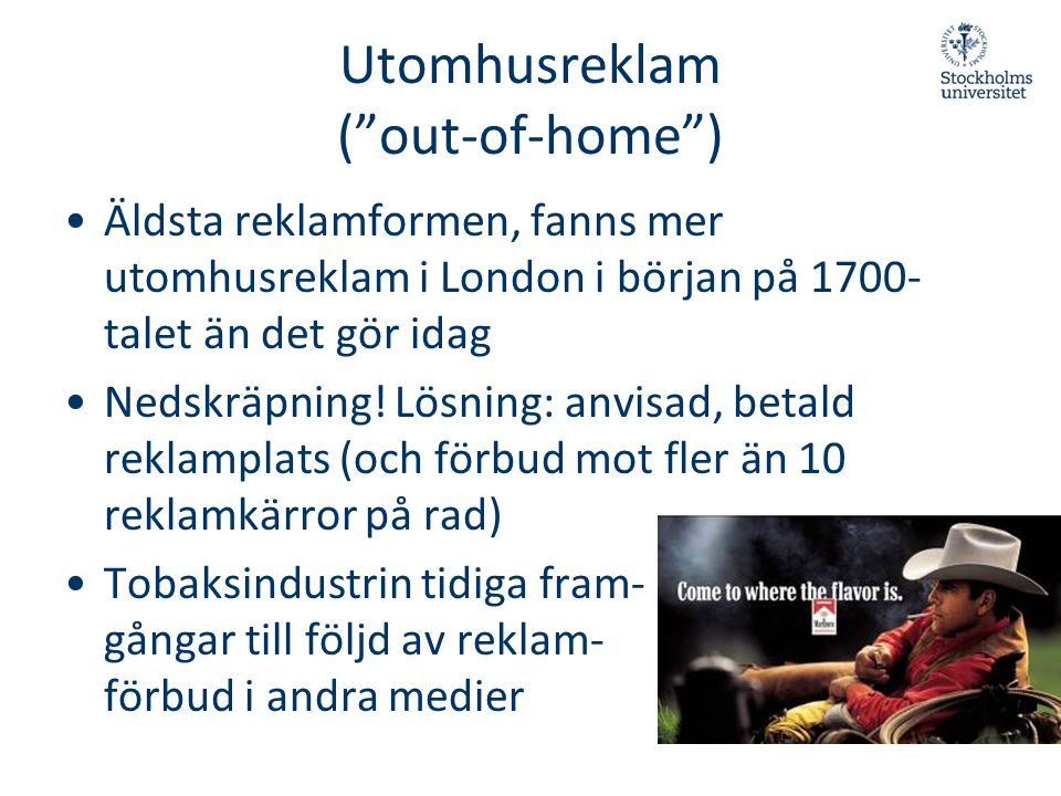 Utomhusreklam ( out-of-home )