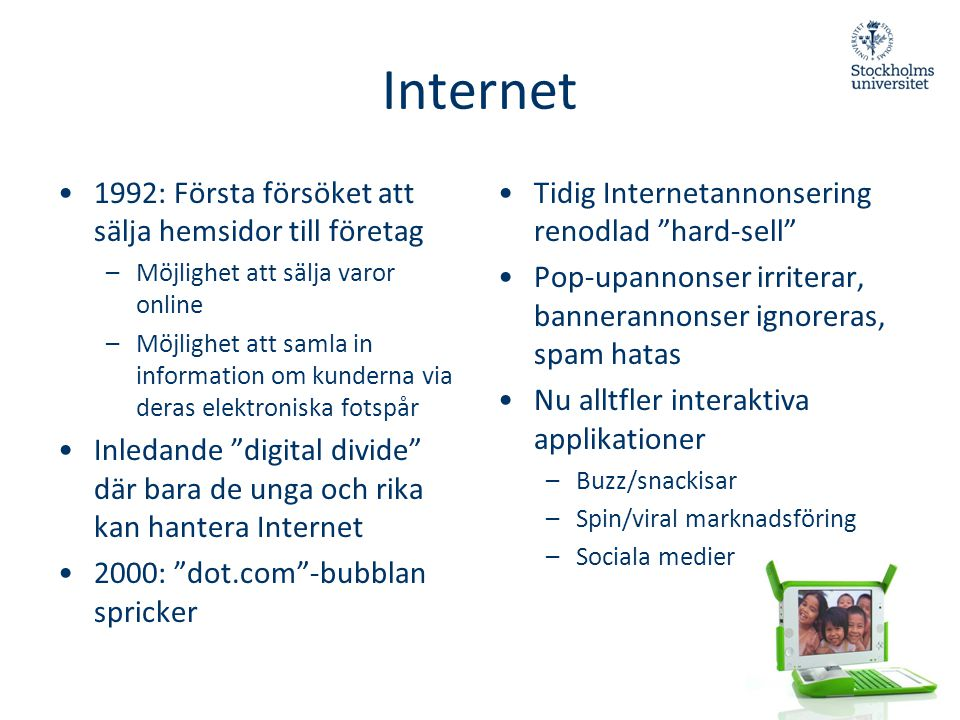 Internet 1992: Första försöket att sälja hemsidor till företag