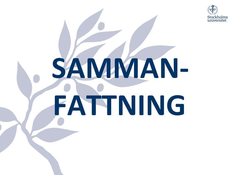 SAMMAN-FATTNING