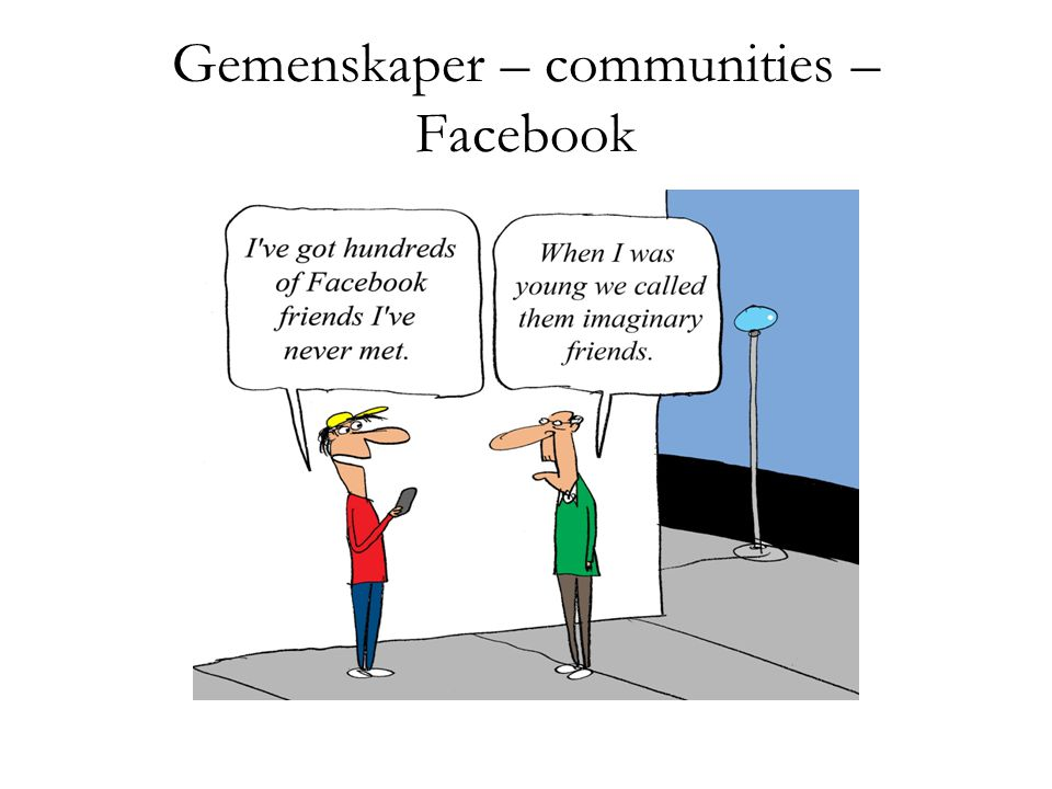 Gemenskaper – communities – Facebook