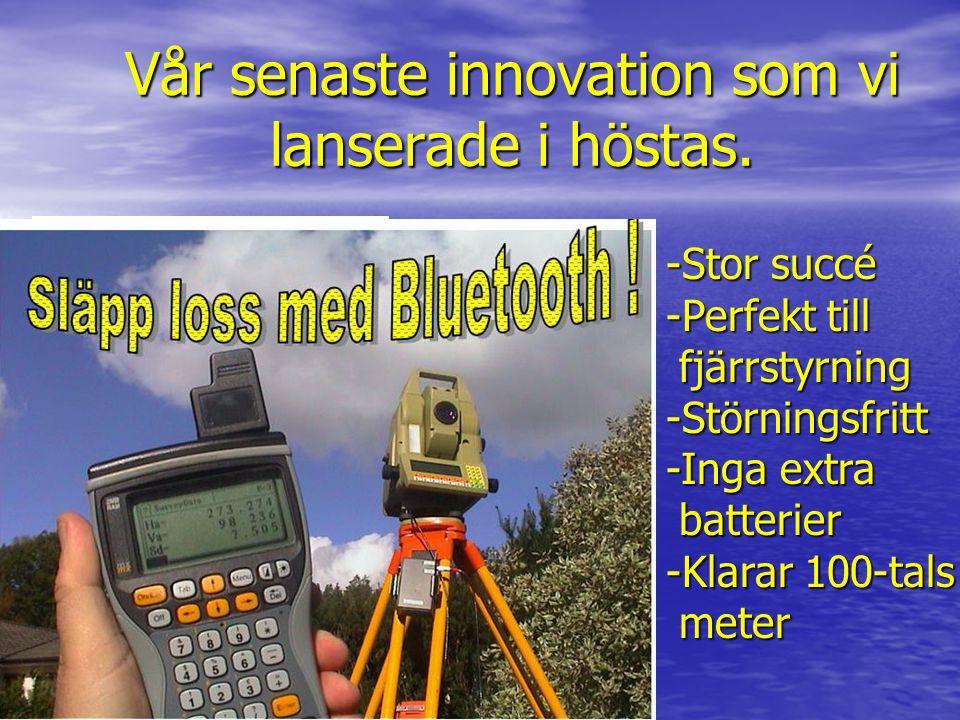 Vår senaste innovation som vi lanserade i höstas.