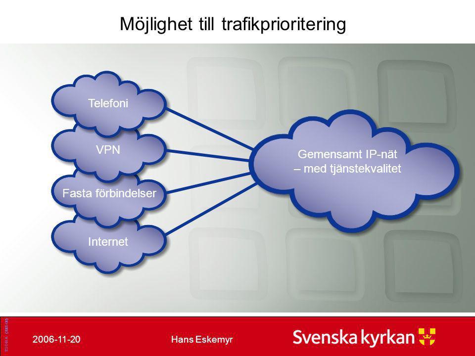 Gemensamt IP-nät – med tjänstekvalitet