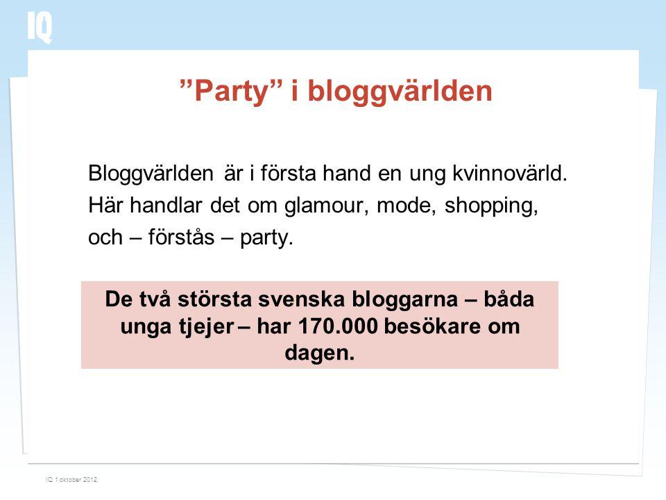 Party i bloggvärlden