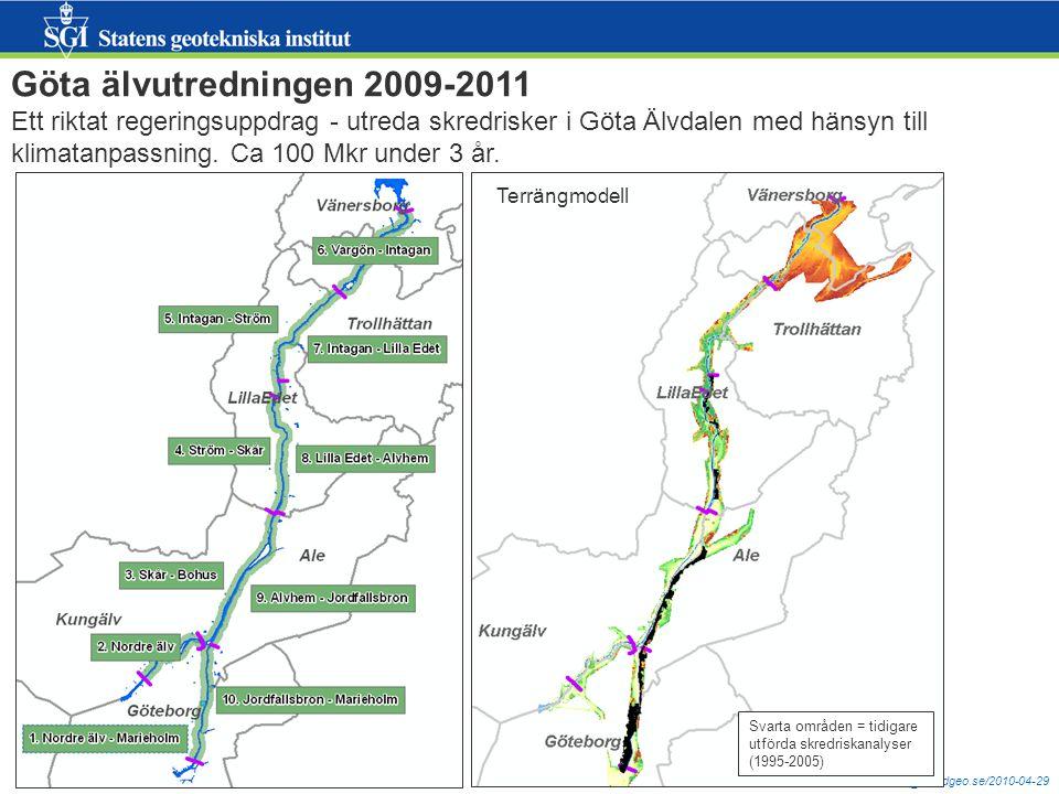 Göta älvutredningen 2009-2011