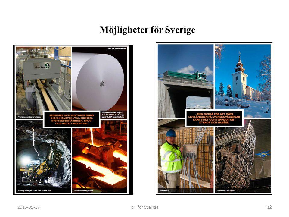 Möjligheter för Sverige