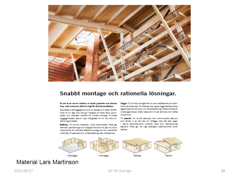 Material Lars Martinson