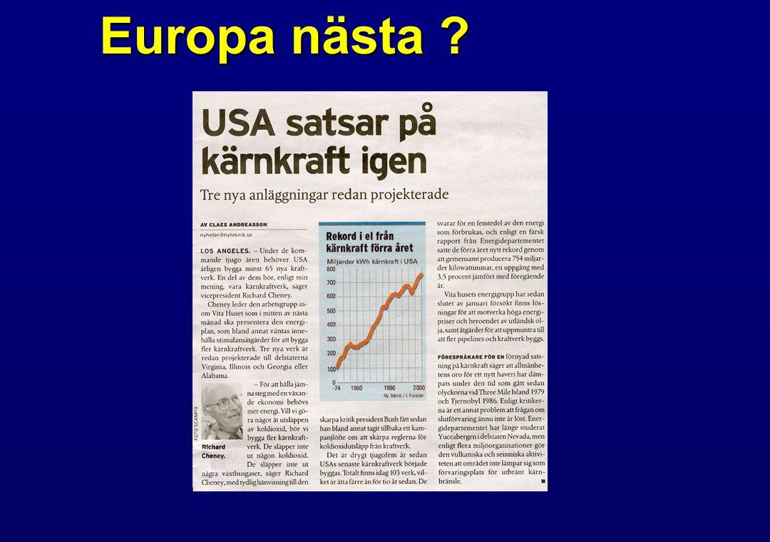Europa nästa