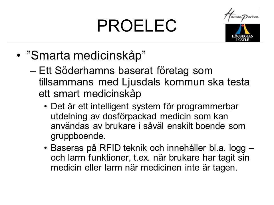 PROELEC Smarta medicinskåp