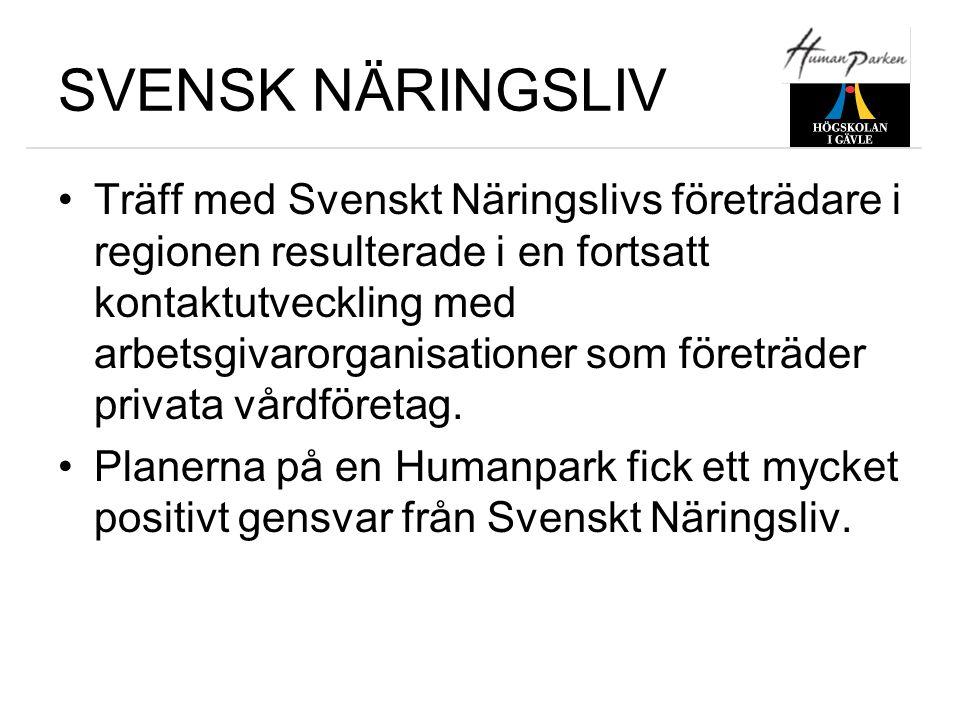 SVENSK NÄRINGSLIV