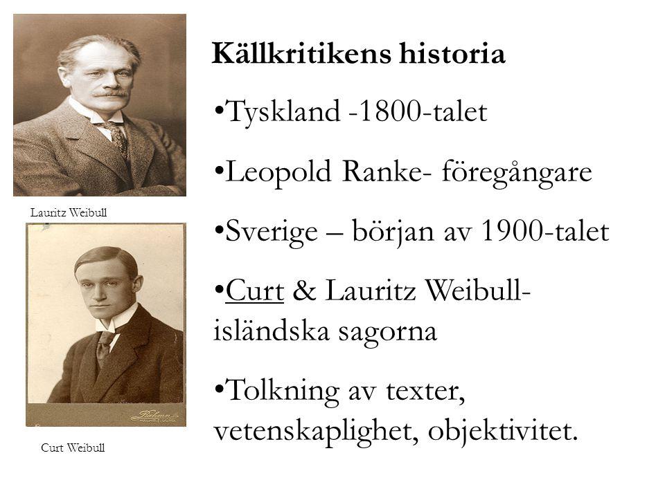 Källkritikens historia