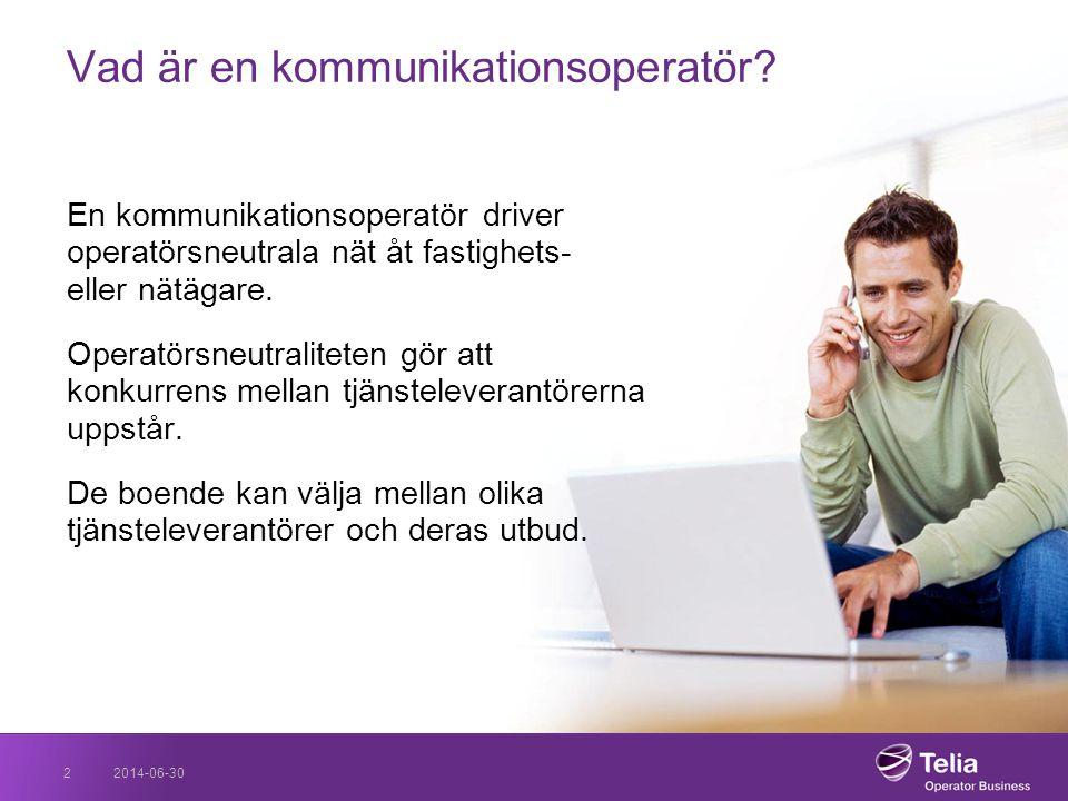 Vad är en kommunikationsoperatör